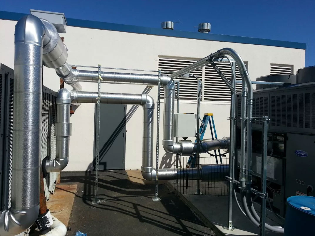 Designed & Planned Systems - Commercial HVAC System - Casto Tech