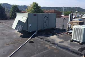 American Standard Rooftop Unit