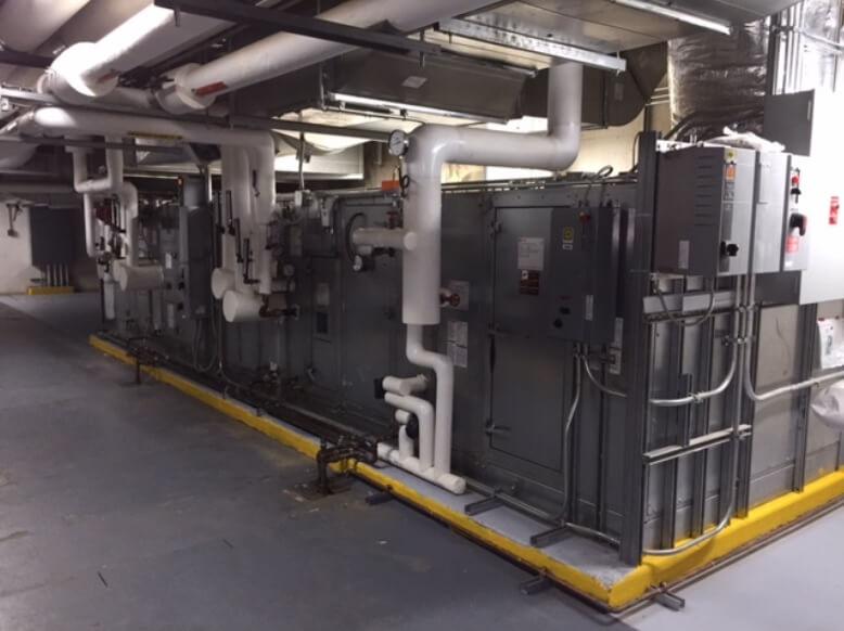 Close up large commercial unit