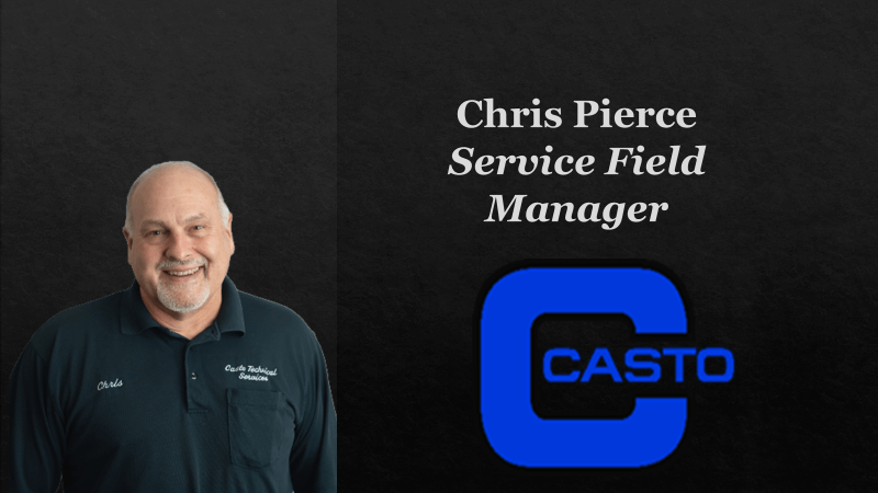 Chris Pierce - Meet Our Management Team - HVAC Repairs Near Me - Casto Tech